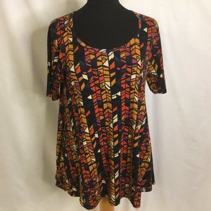 LuLaRoe Top stretchable Long  Bell Shape